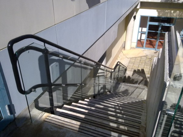 Balustrade With Handrail