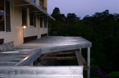 Forestville Balcony Onsite Fabrication & Install
