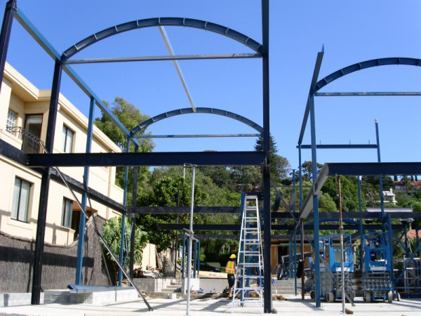Pearl Bay Onsite Fabrication Structural Steel