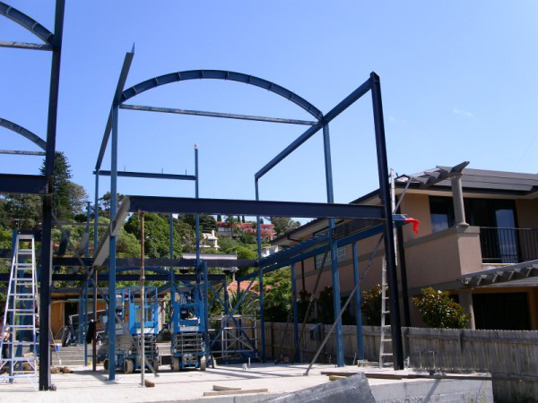 Pearl Bay Onsite Fabrication and Installation