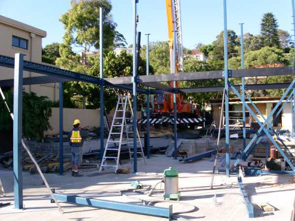 Pearl Bay Onsite Fabrication