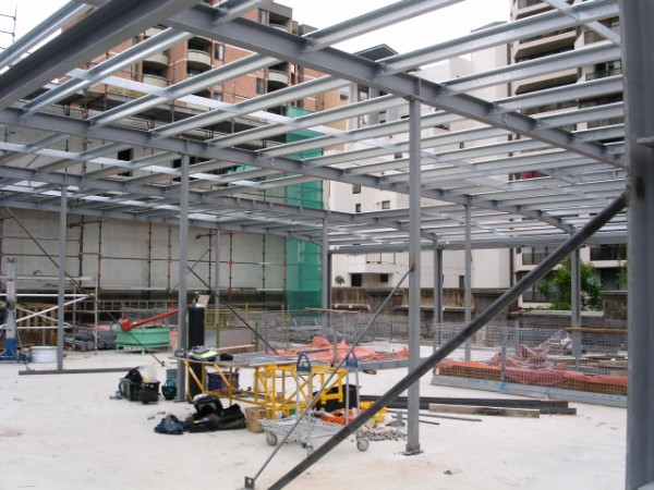 Structural Steel Build Beams Fabricator