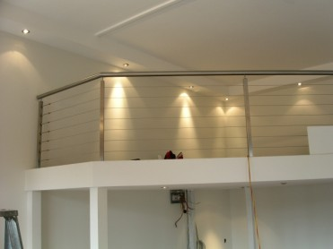 Mezzanine Floors with Balustrade