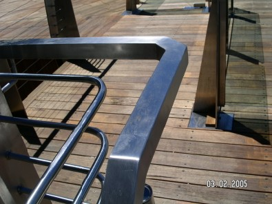 External Stainless Steel Balustrade