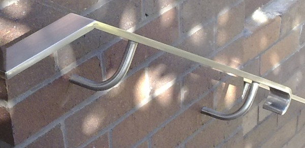 Stainless Steel Handrail With Curve