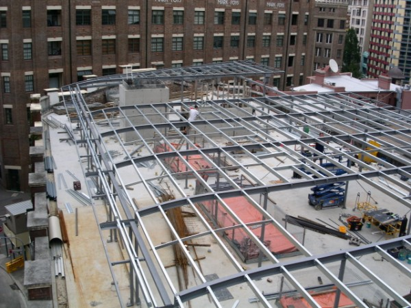 Structural Steel Fabrication and Onsite Installation