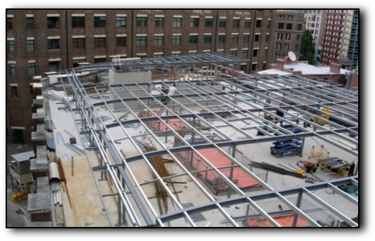 Onsite Structural Steel Fabrication and Installation Sydney