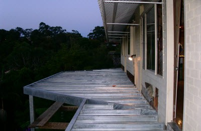 Forestville onsite fabrication and installation