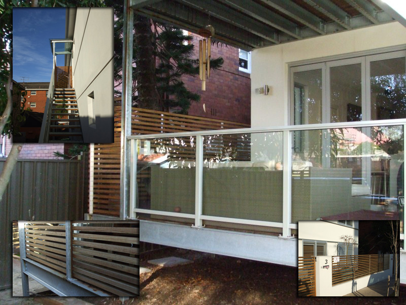 Randwick Fabrication of Balustrade with handrail, balcony, stairs, decking, fence & gate